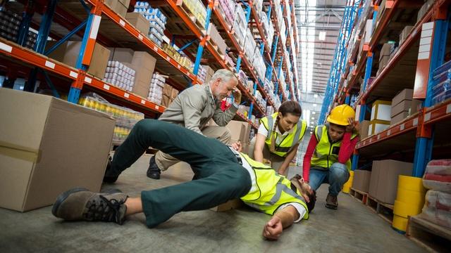 injured at work needs help