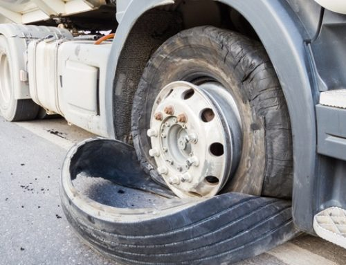 Truck Accident Caused by Negligence